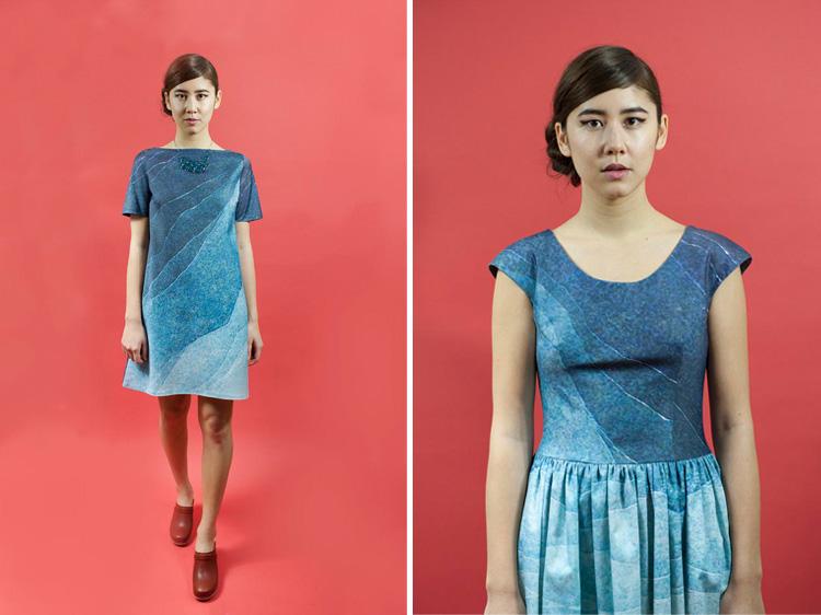 Blue Gradient Dresses