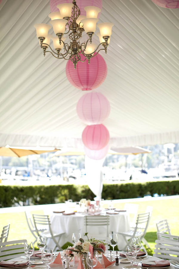 Jamie Lau Designs Reception Tent