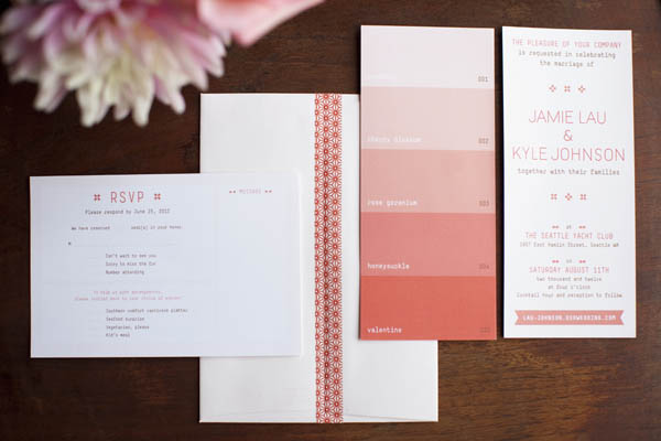 Jamie Lau Designs Wedding Invites