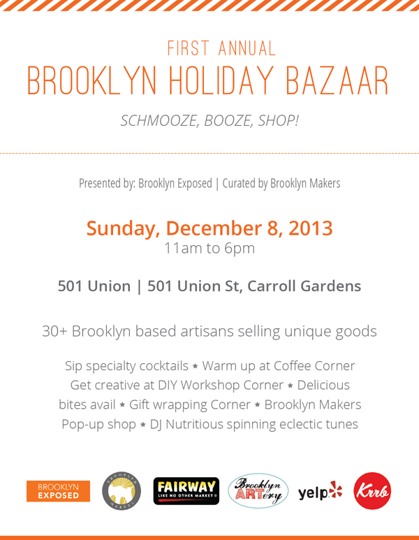 First Annual Brooklyn Holiday Bazaar