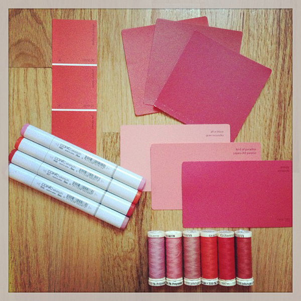 Jamie Lau Designs Color Palette Inspiration Pink Ombré