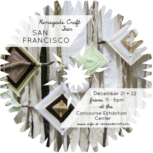 5th Annual Renegade Craft Fair Winter Market