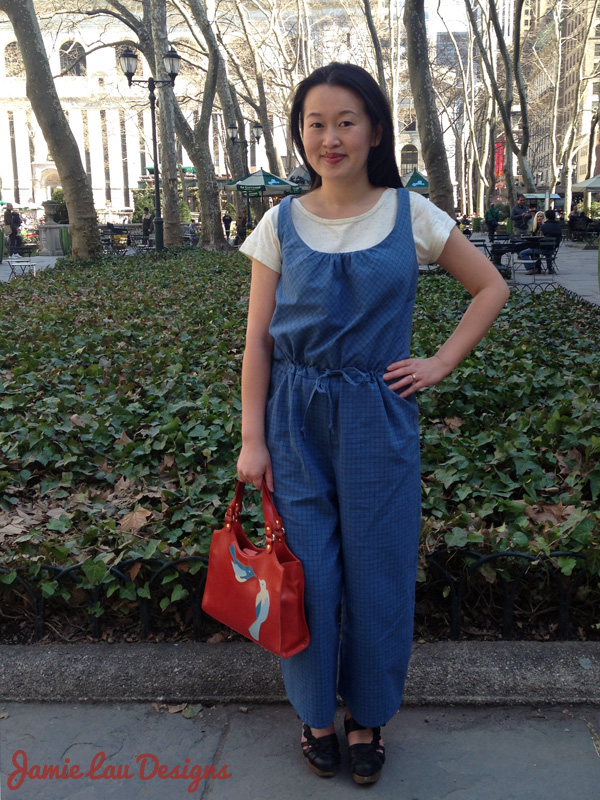 Jamie Lau Designs Drawstring Jumpsuit 3
