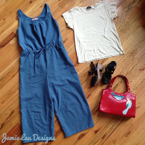 Jamie Lau Designs Drawstring Jumpsuit Styled
