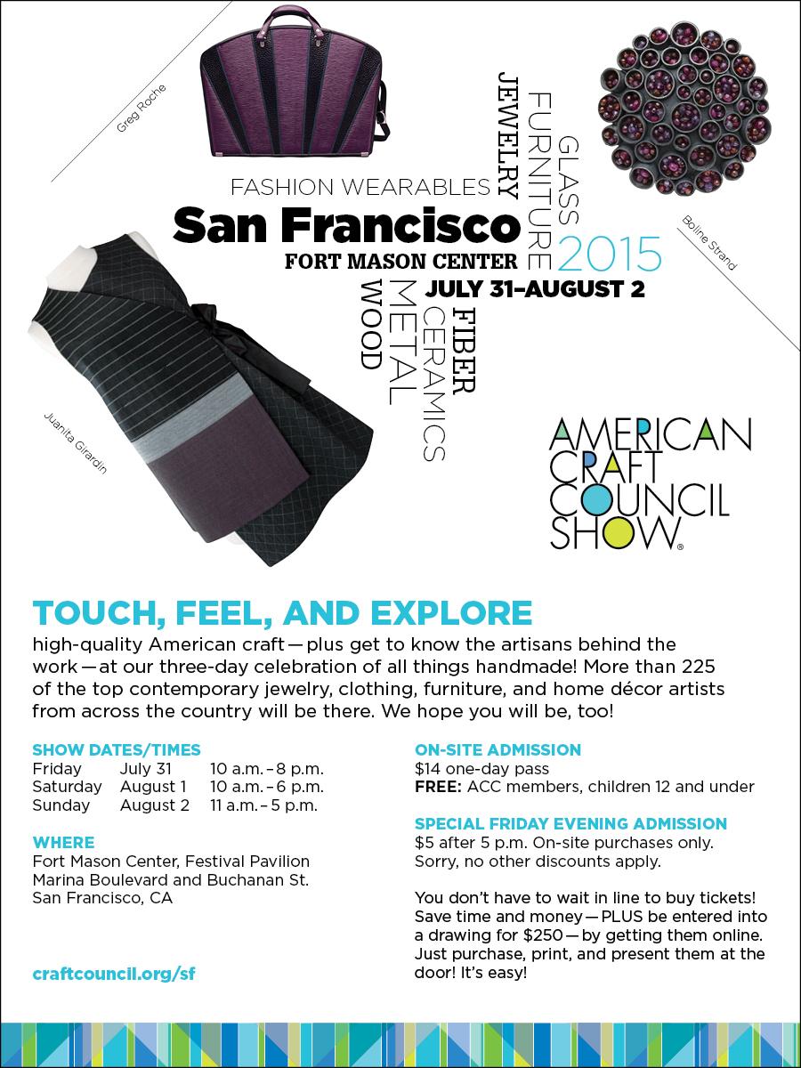 ACC 2015 San Francisco Show Banner