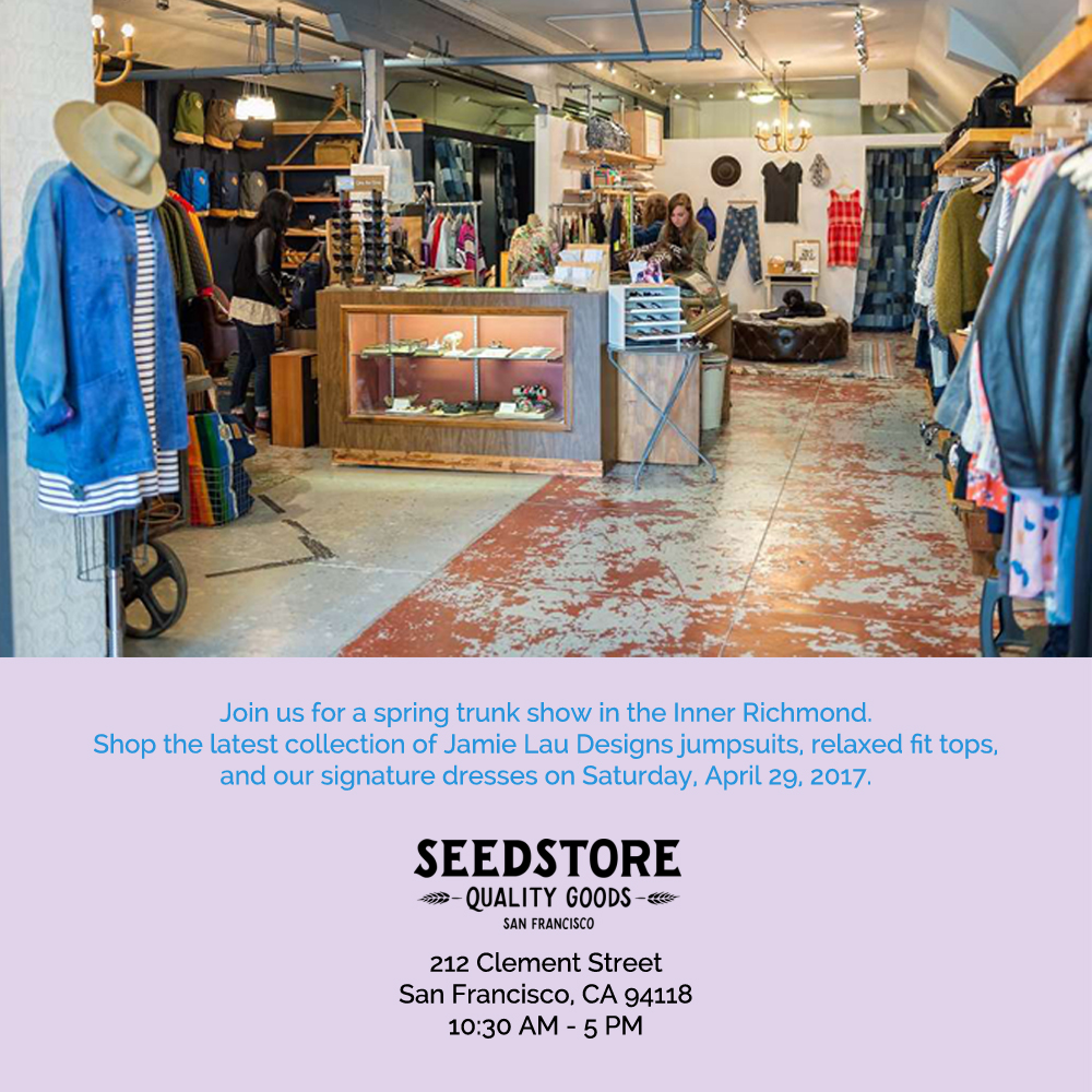 Trunk Show at Seedstore
